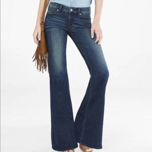 Express Wide Leg Flare Jeans